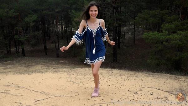 CinderellaStory Nika Sands in the Wood